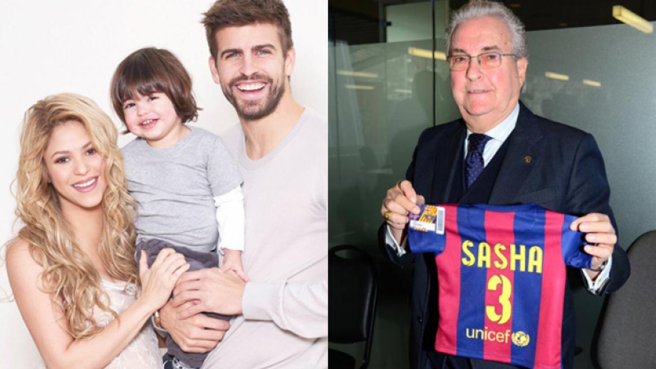 Sasha, el segundo hijo de Shakira y Piqué ya es socio del Barcelona. (Foto: web)