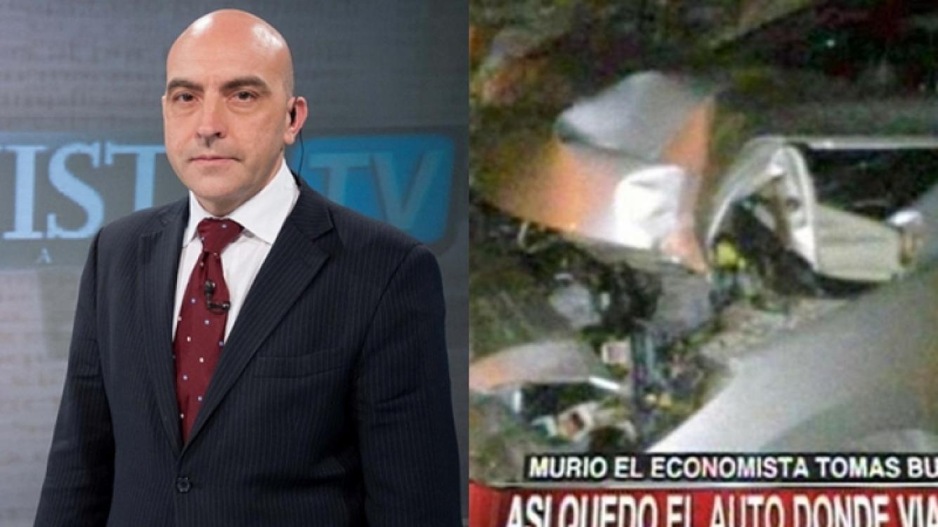 Murió el economista Tomás Bulat: (Foto: Web y C5N)