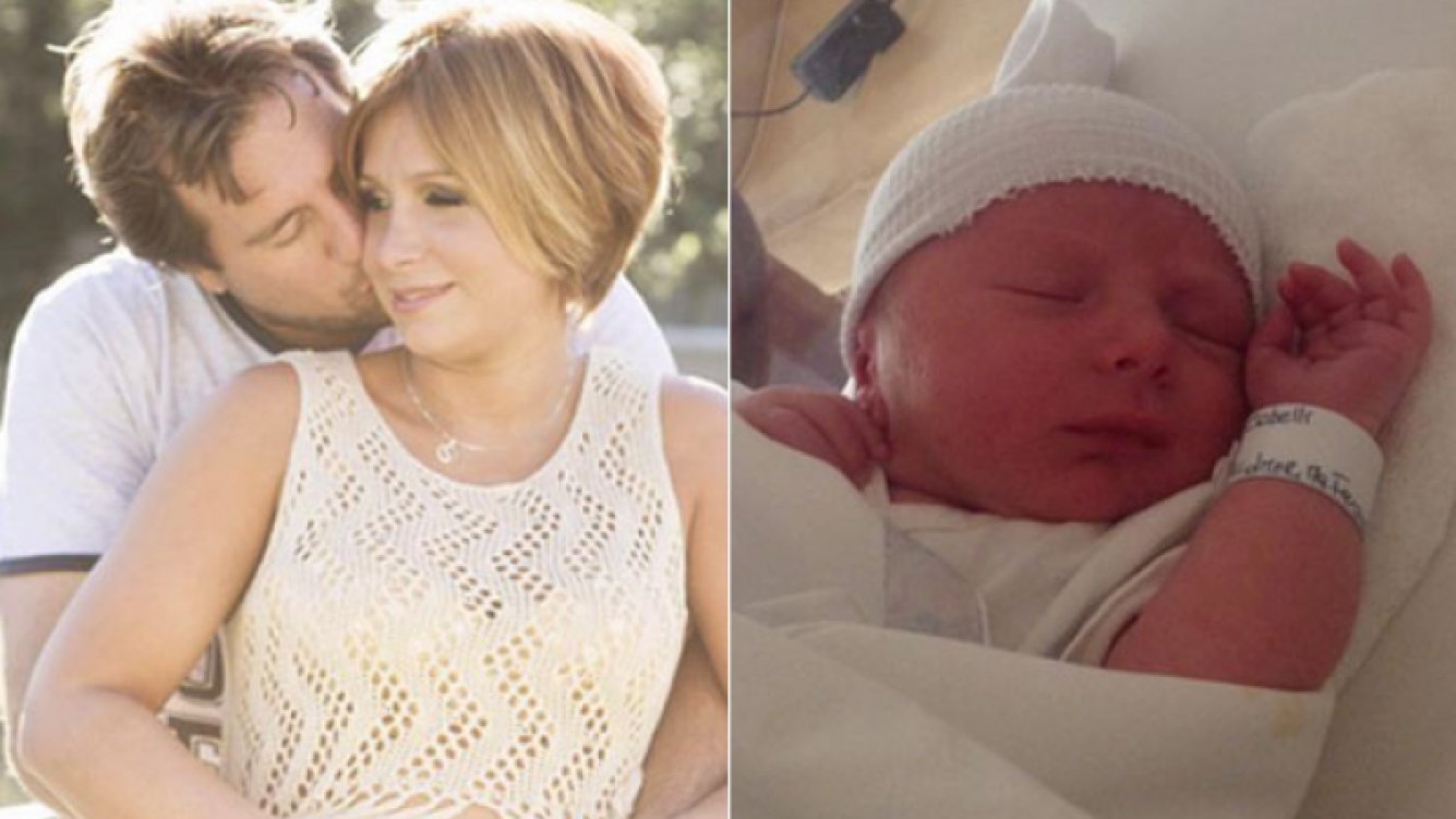 Nació Rocco Cobelli, el segundo hijo de Fernanda Vives: las primeras fotos del bebé (Foto: Twitter)