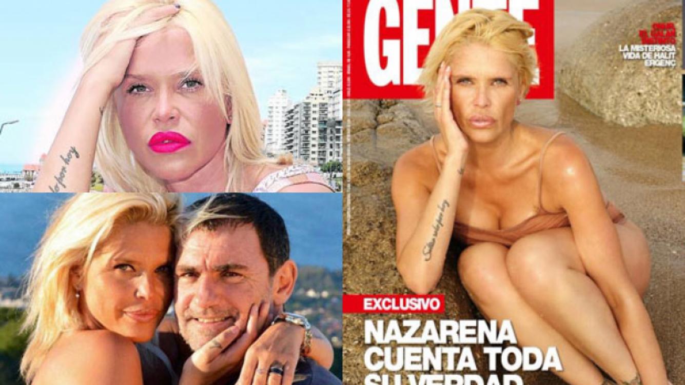 Nazarena Vélez y sus más íntimas confesiones tras su crisis emocional (Fotos: Web y Gente).