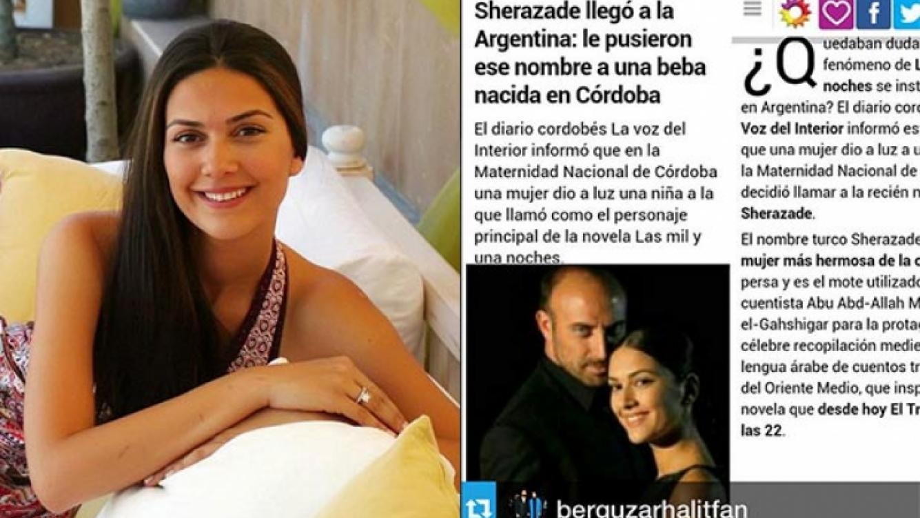 Sherezade agradeció nuevamente a sus fans a través de Instagram. (Fotos: Web e Instagram)