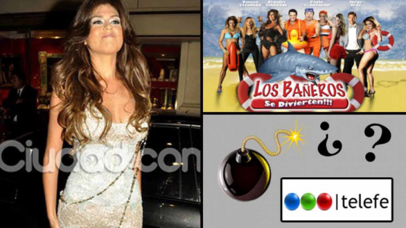 Loly Antoniale se baja de Los Bañeros. (Foto: Web)