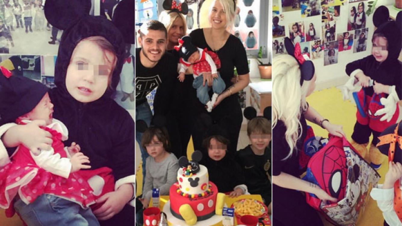 Wanda Nara le festejó el cumpleaños a su hijo Benedicto (Foto: Instagram)
