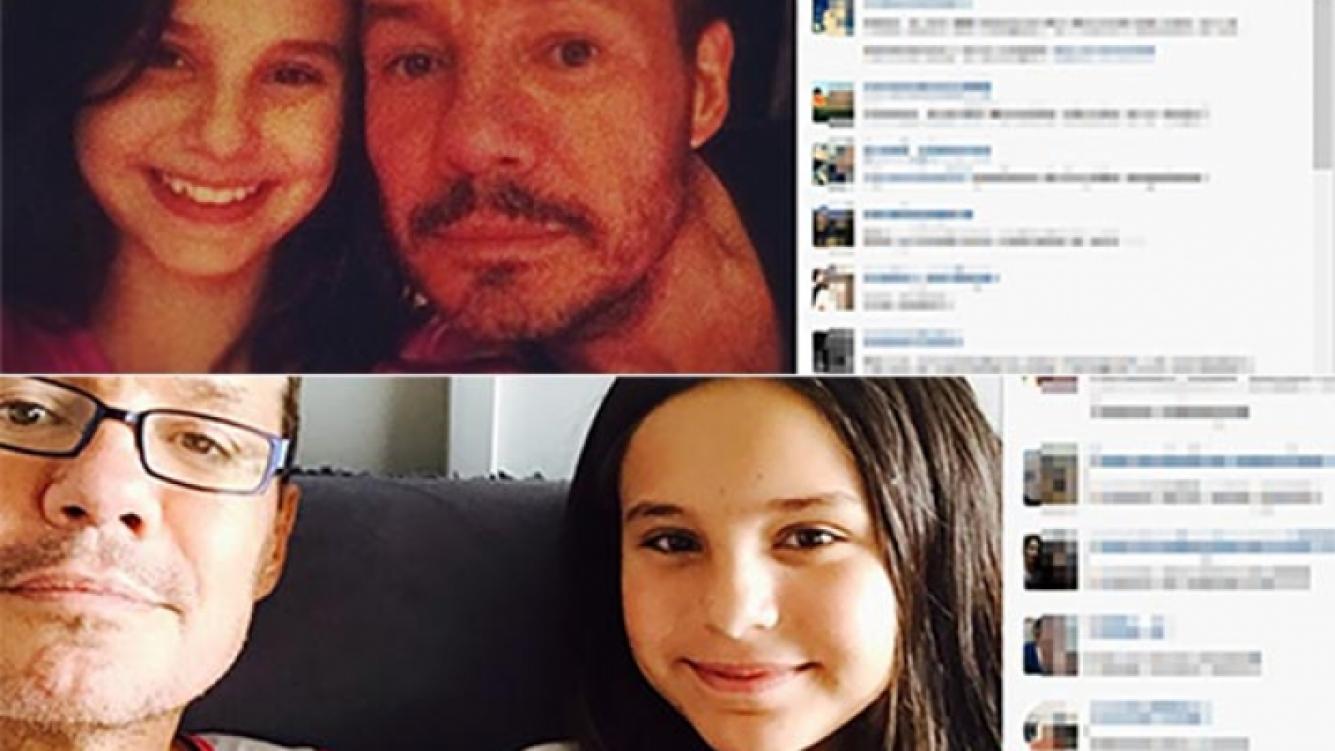 Los tiernos mensajes de Marcelo Tinelli y su hija Juana en Instagram.