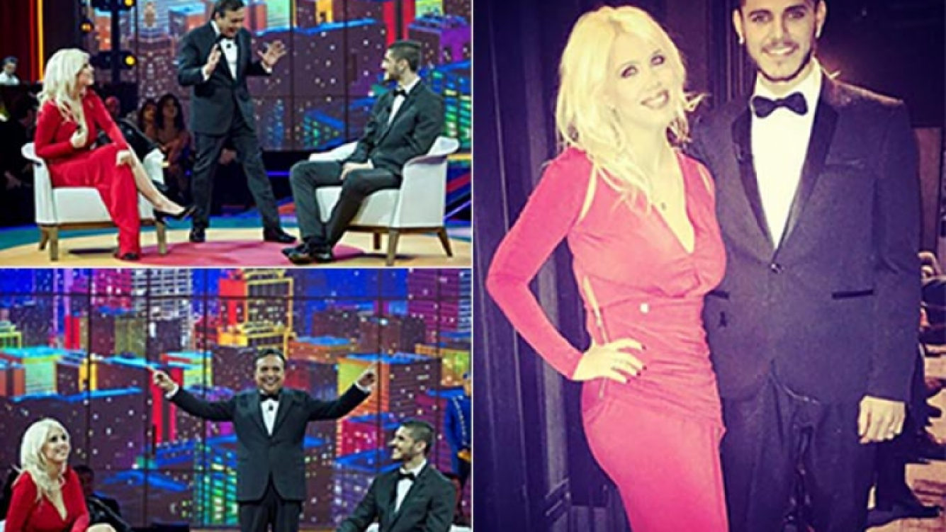 Wanda Nara y Mauro Icardi hablaron de Maxi López en la TV italiana. (Fotos: Gazzetta.it)