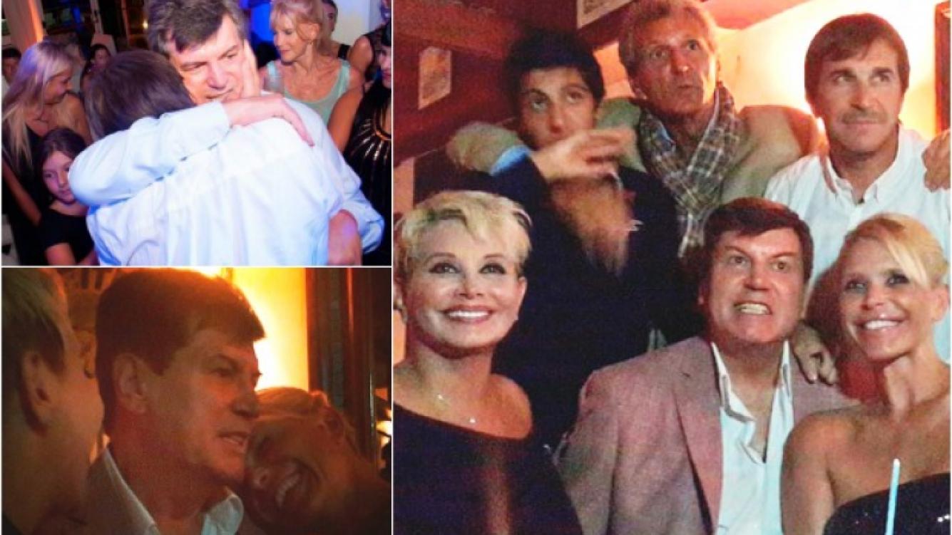 Carlín Calvo festejó sus 62 años junto a todo el elenco de Leonas. (Foto: Twitter)