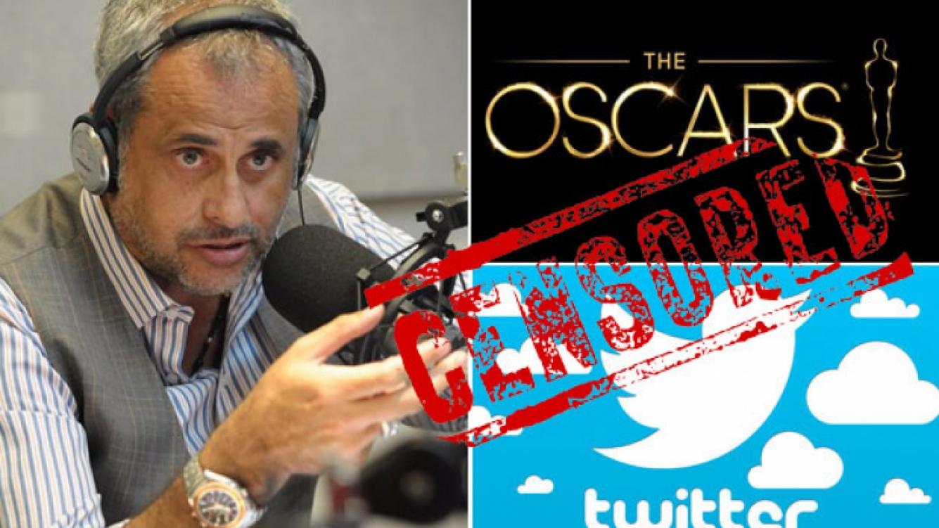 Jorge Rial, el crítico más mordaz de los Oscar. (Foto: Web)