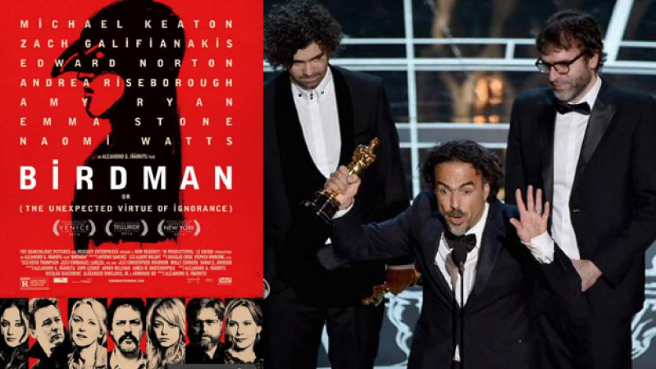 Birdman, la mejor película de los Oscar 2015. (Foto: web)