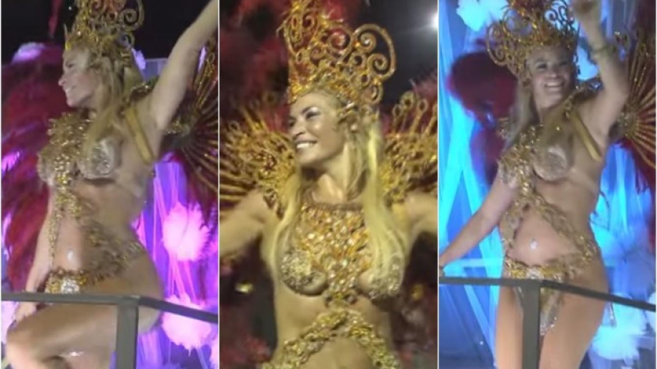 Claudia Fernández enseñó su cuerpazo a puro ritmo en el carnaval de su país. (Foto: Web)