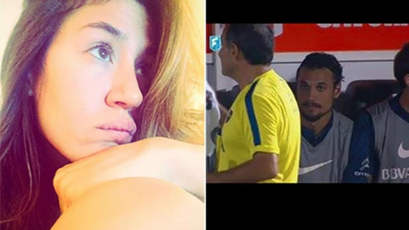 Jimena Barón y el (no) debut de Osvaldo en Boca. (Fotos: Instagram y Web)