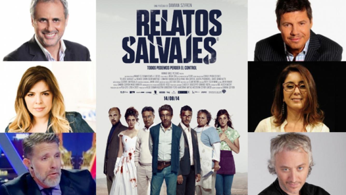 Los famosos apoyan a Relatos Salvajes. (Fuente: web)