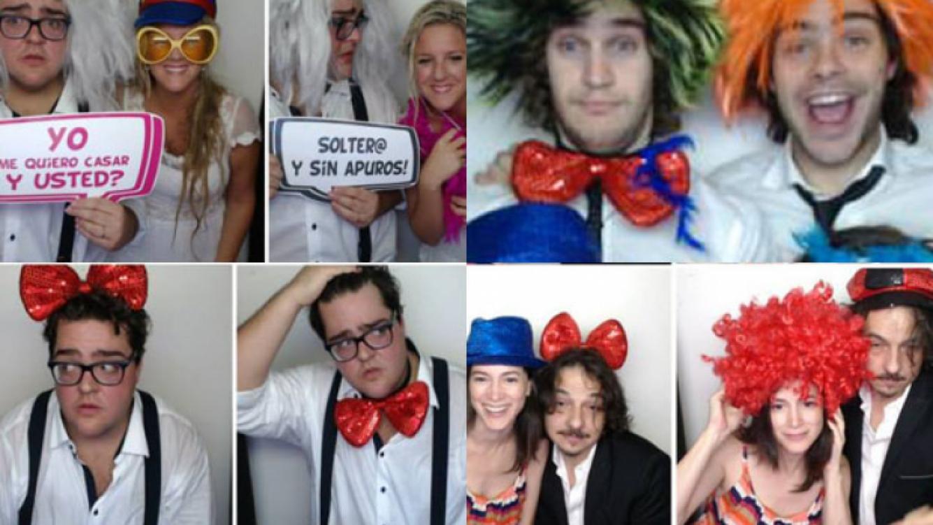 La intimidad de la boda de Barassi en imágenes (Foto:Facebook Magic Photo Cabine).