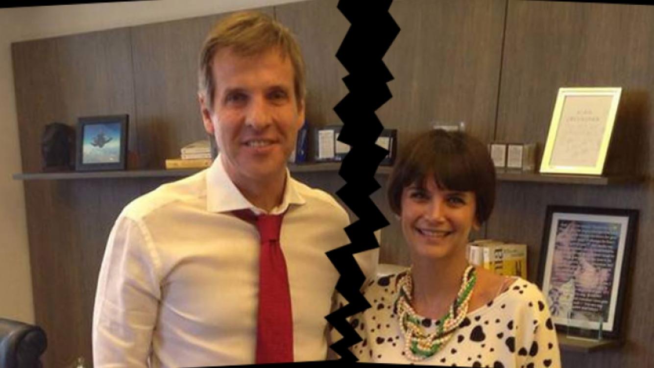 Amalia Granata y Martín Redrado ya no son más pareja. (Foto: archivo Web)