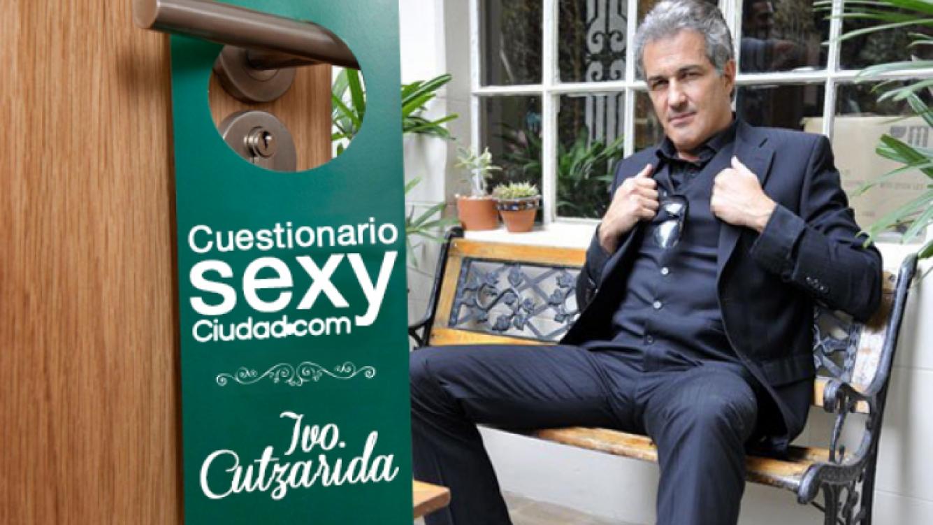Ivo Cutzarida se sometió al Cuestionario Sexy de Ciudad.com. (Foto: Web)