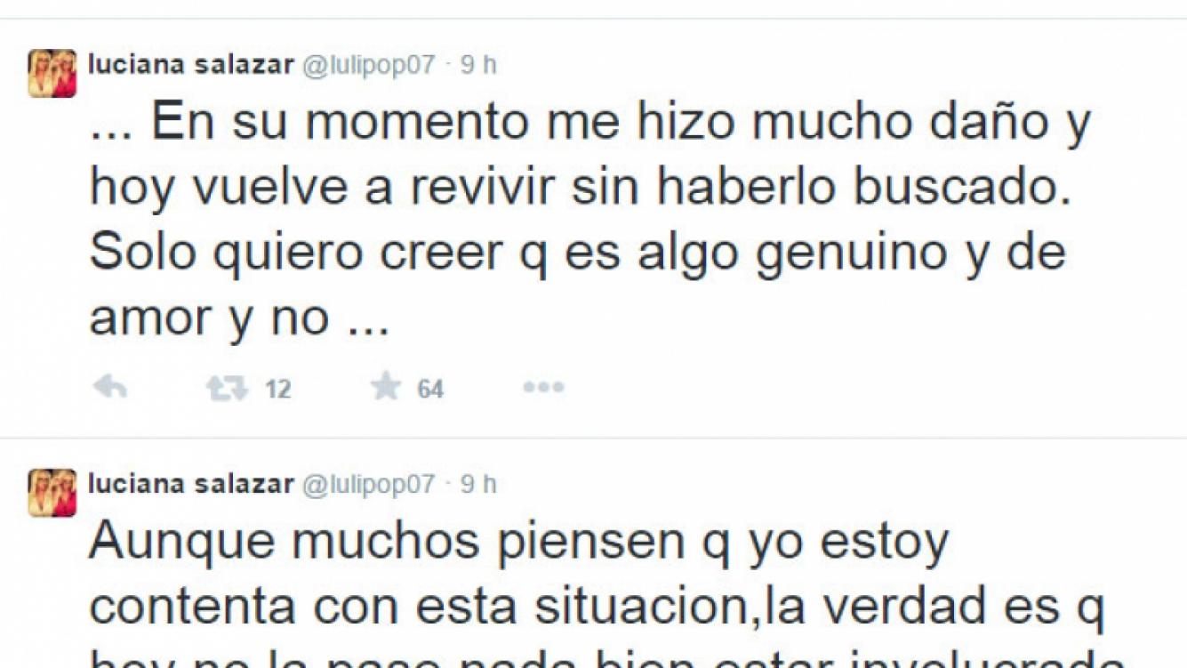 Luciana Salazar, afectada por la separación de Redrado y Granata: