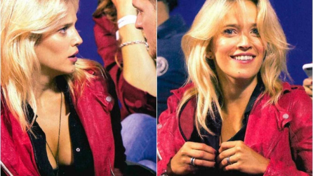 La camisa de Luisana Lopilato reveló más de lo que ella quería. (Foto: Caras)