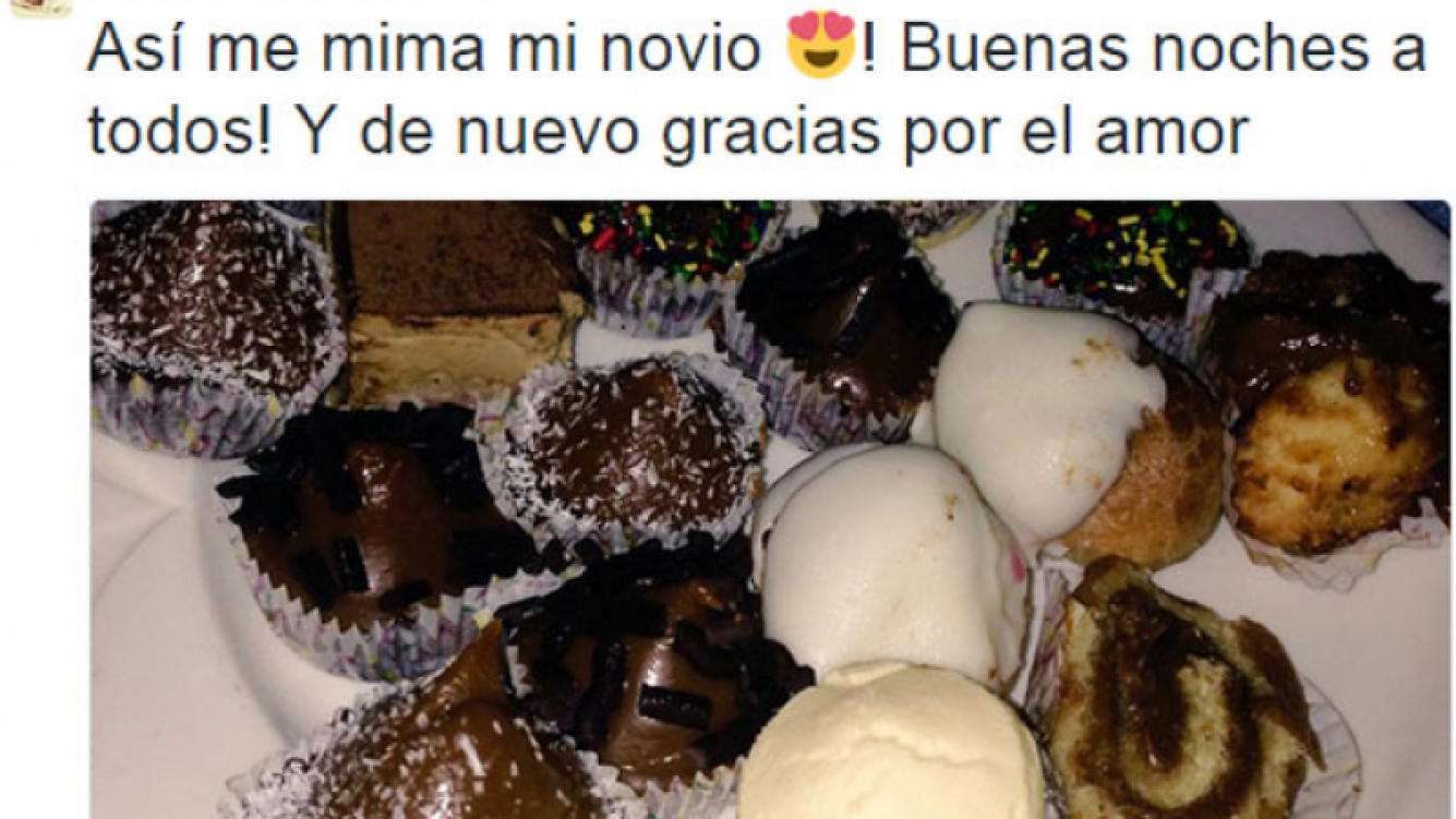 Barbie Vélez y Fede Bal, romántico cruce tuitero tras el accidente automovilístico de la actriz (Foto: Twitter)