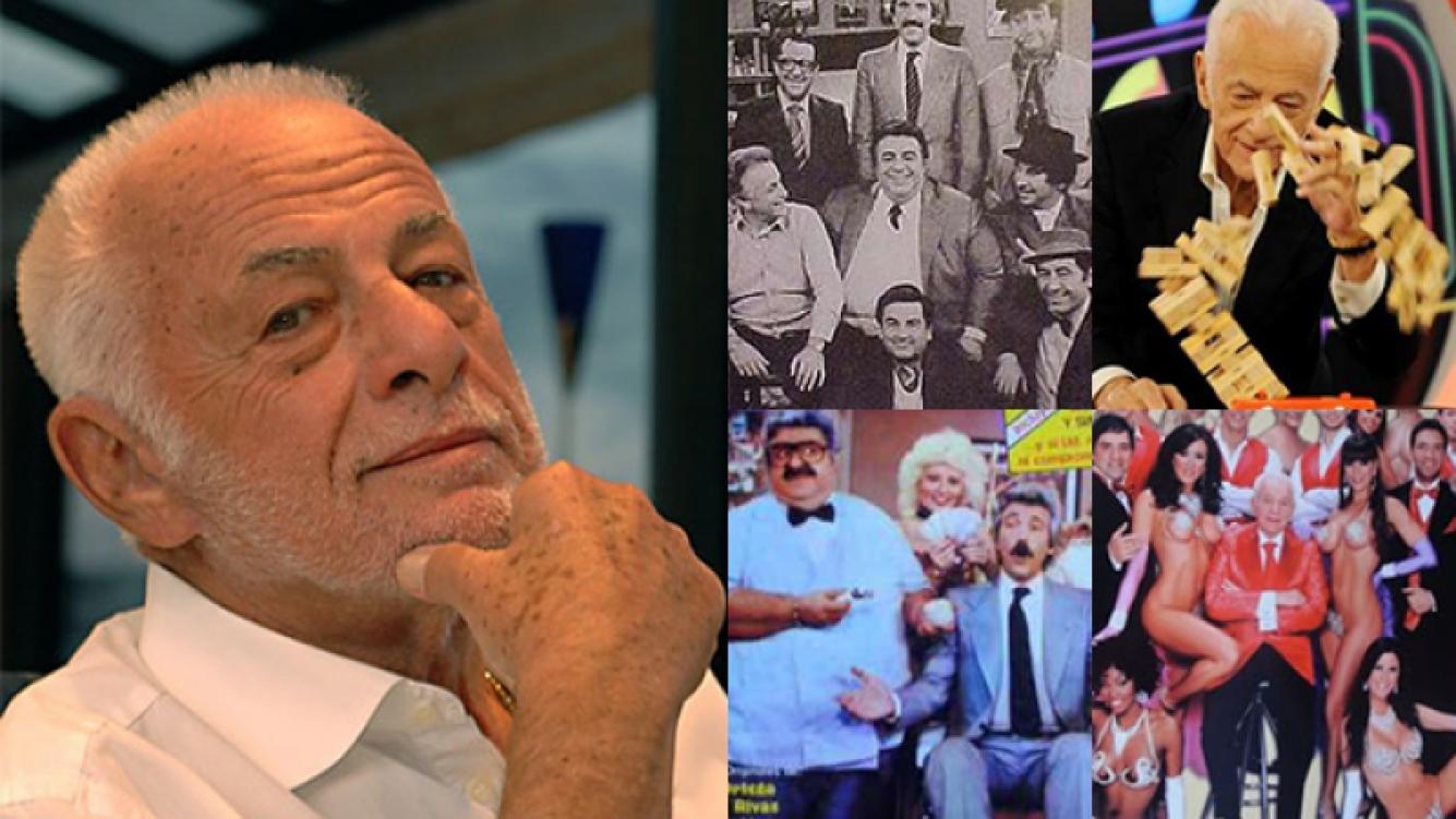 Gerardo Sofovich, dueño de una extensa carrera (Fotos: Web).