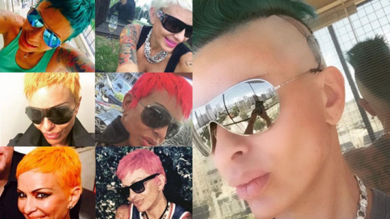 Todos los cambios de look de Daniela Cardone (Foto: Instagram)
