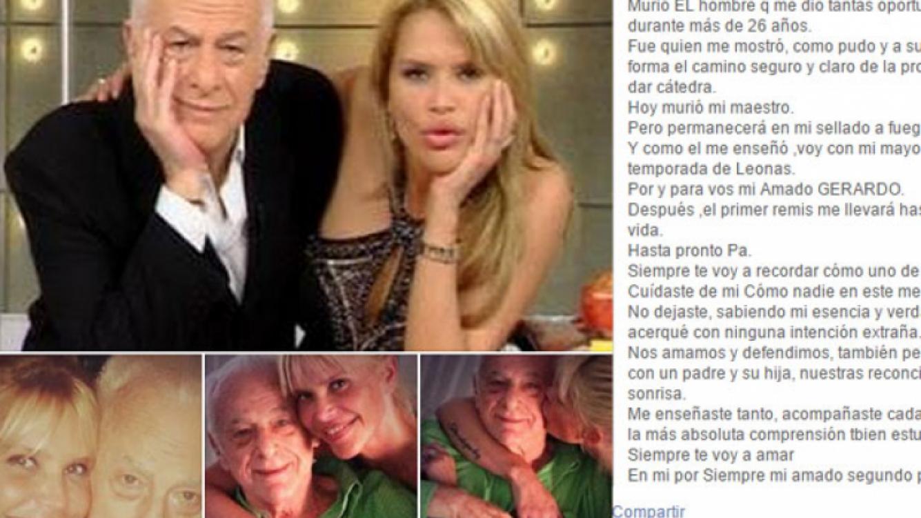 "La emotiva carta de despedida de Nazarena a Gerardo: ""Hasta pronto, Pa""."