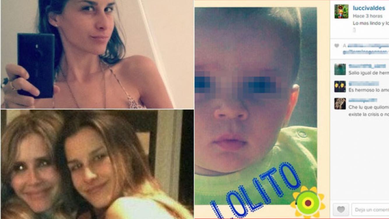 Lucía Valdés y un mensaje en Instagram en plena separación entre su hermana y Tinelli. (Foto: Web)