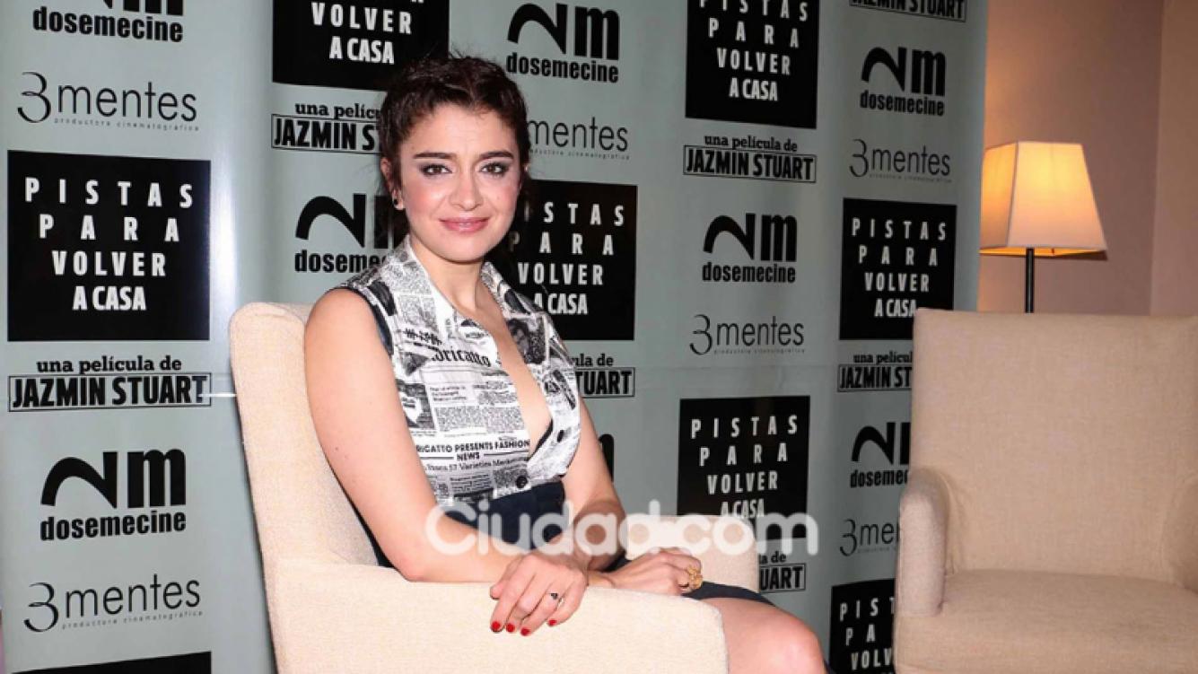 Erica Rivas mantuvo un mano a mano con Ciudad.com (Fotos: Movilpress).