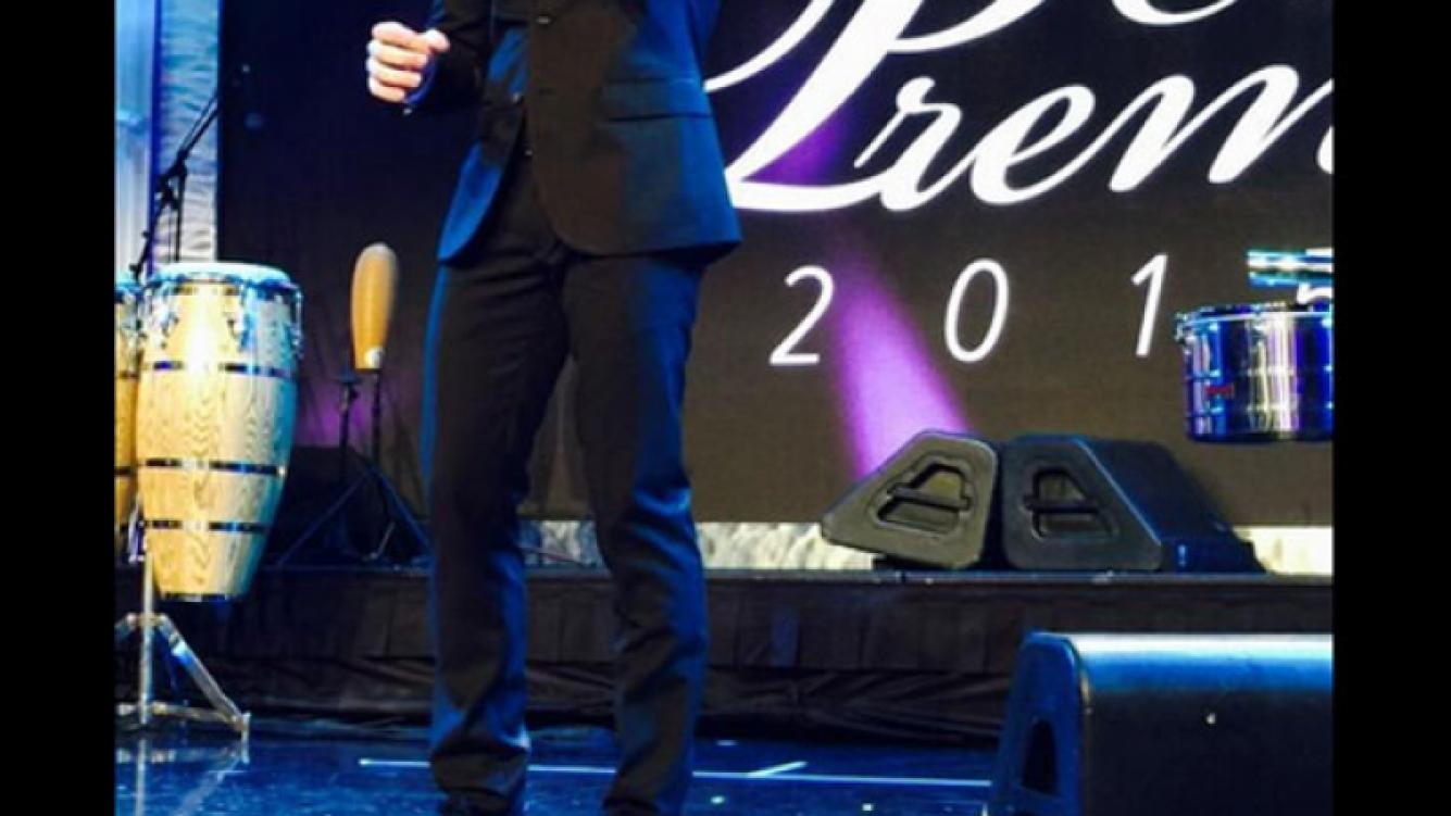 China Suárez acompañó a David Bisbal a una premiación en Los Ángeles (Foto: Twitter)