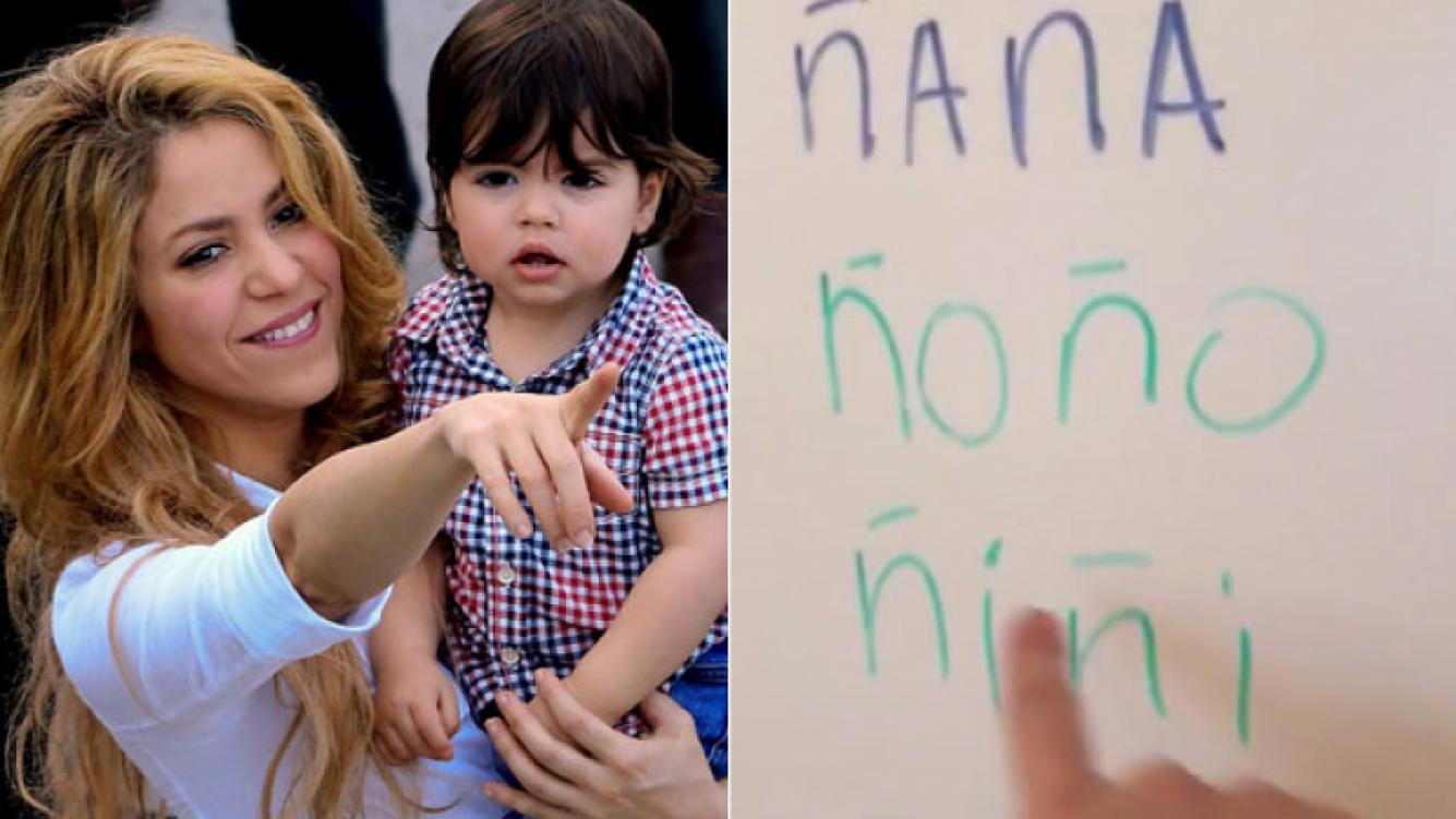 ¡Un genio! Shakira compartió en Twitter un video de su pequeño hijo leyendo (Foto: Web)