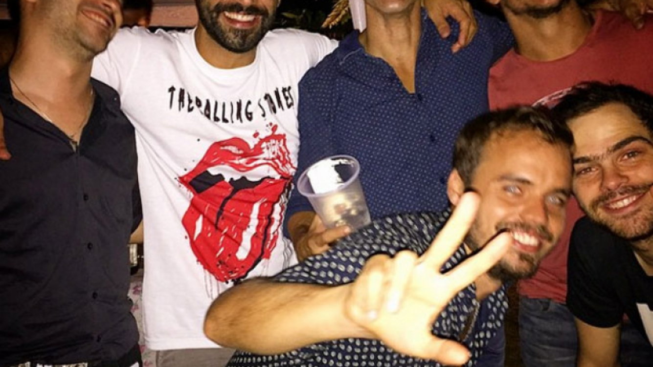 Gonzalo Heredia festejó su cumpleaños rodeado de amigos y ¡con guerra de espuma! (Foto: Instagram)