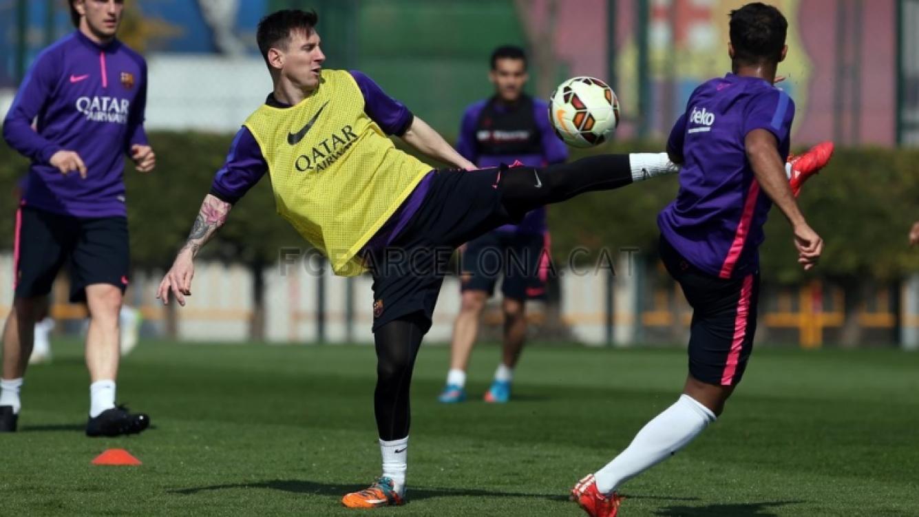 El nuevo tatuaje de Lionel Messi. (Foto: www.fcbarcelona.cat)