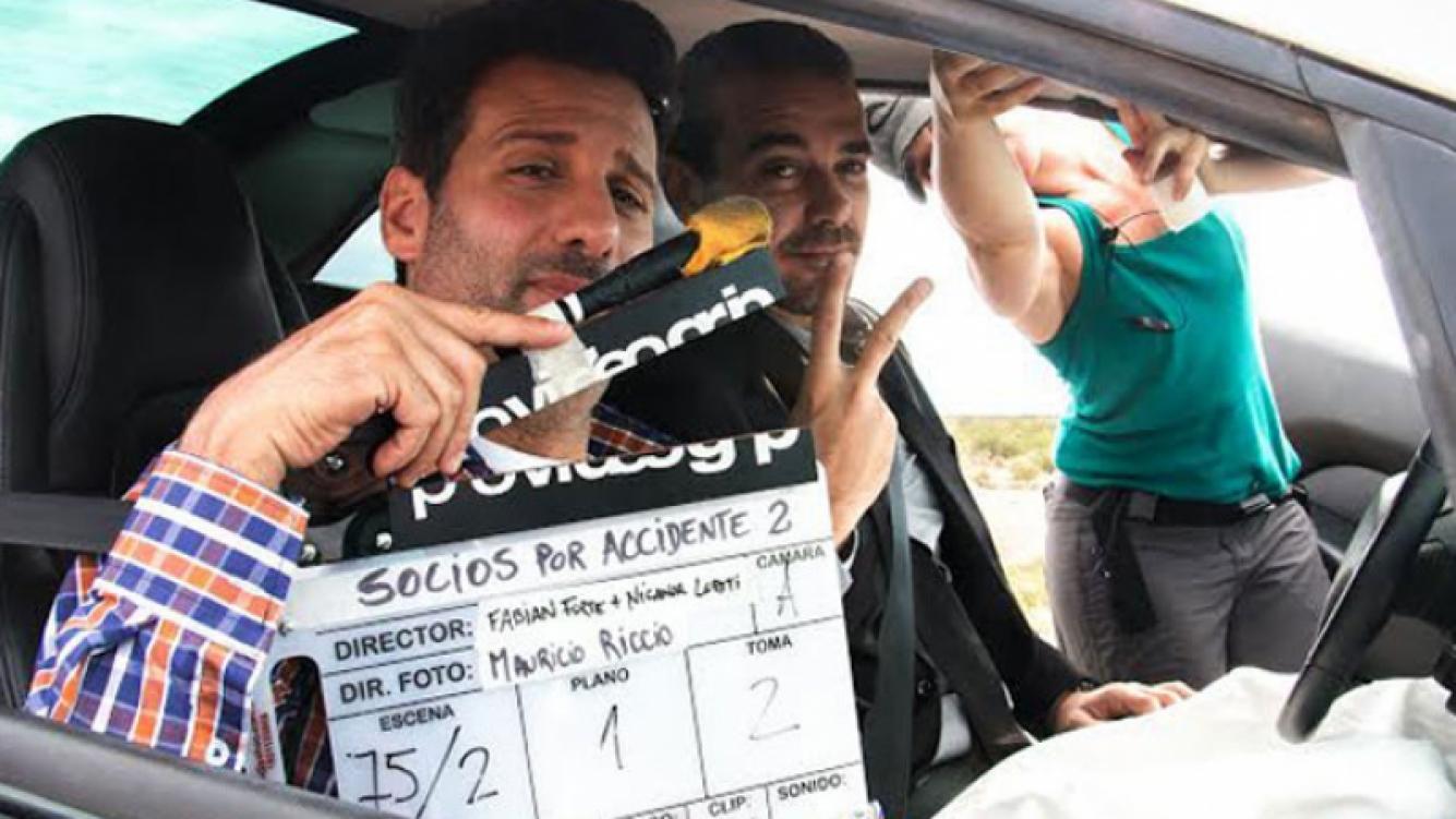 José María Listorti y Pedro Alfonso preparan Socios por accidente 2. (Foto: Prensa)