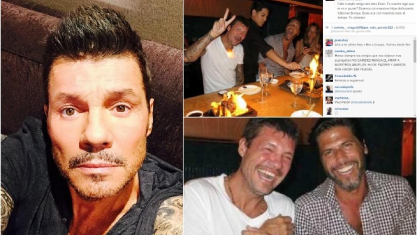 Tinelli homenajeó a su amigo Federico Ribero en el día que cumpliría 46 años. (Foto: Instagram)