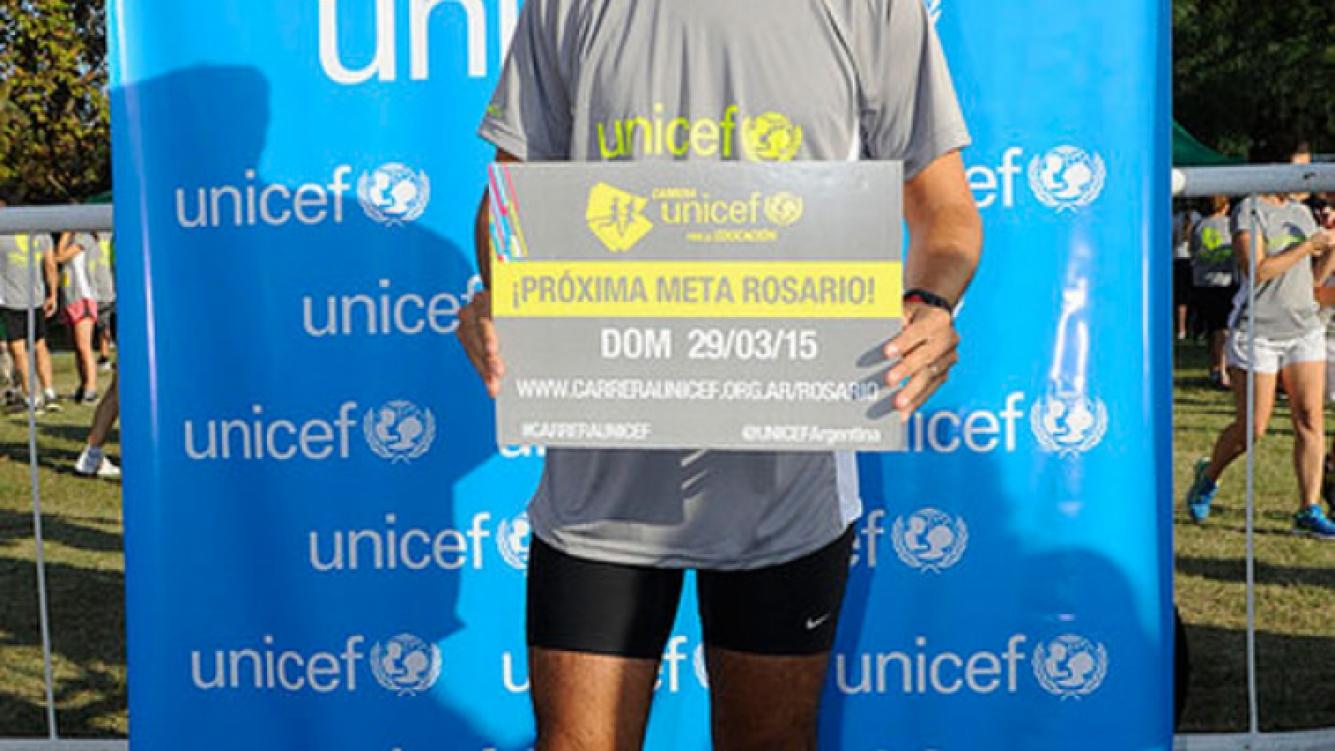 La Carrera UNICEF por la Educación reunió a famosos dispuestos a hacer deporte y ayudar. (Foto: Unicef)