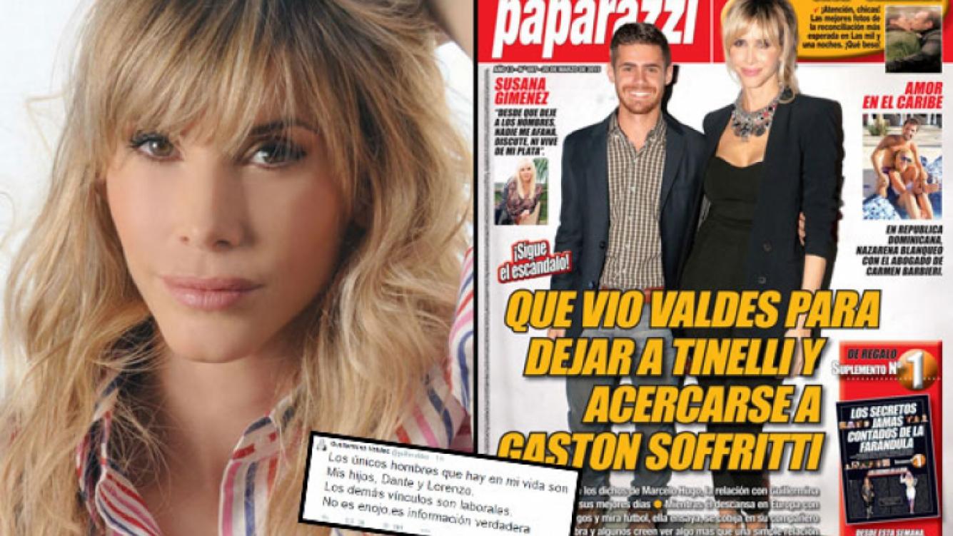 Guillermina Valdés salió al cruce de la tapa de Paparazzi. (Foto: Web y revista Paparazzi)