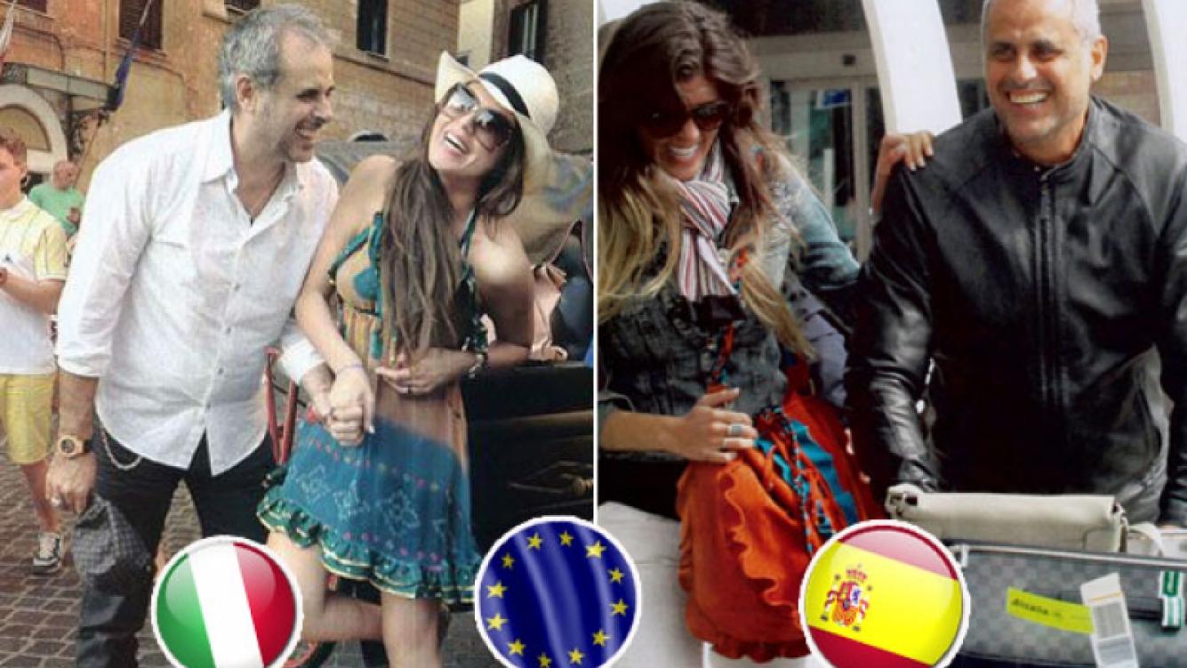 Jorge Rial y Loly Antoniale recorrerán parte de Europa. (Foto: Web)
