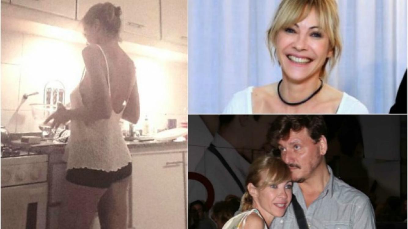 Inés Estévez sorprendió con un look osado en las redes sociales, dedicado a su pareja. (Foto: Twitter)