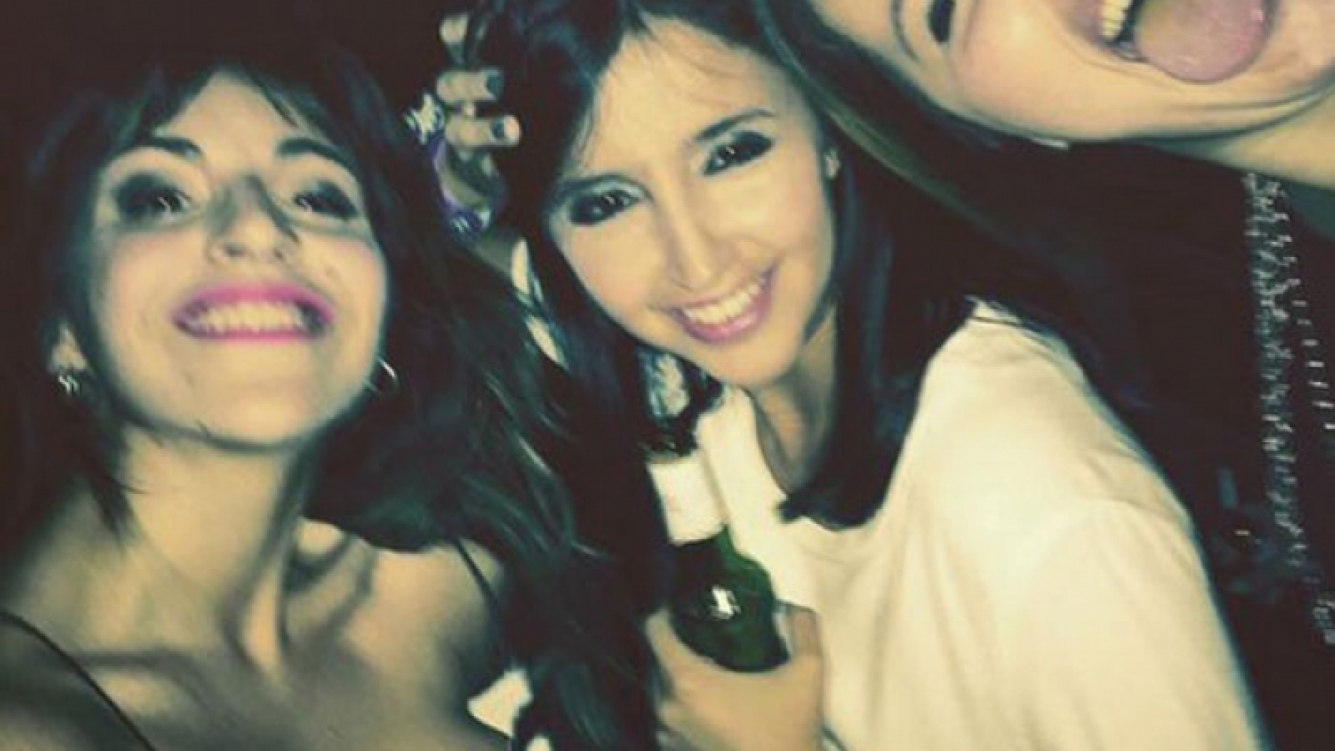 La salida de Gianinna Maradona con amigos (Foto: Twitter)