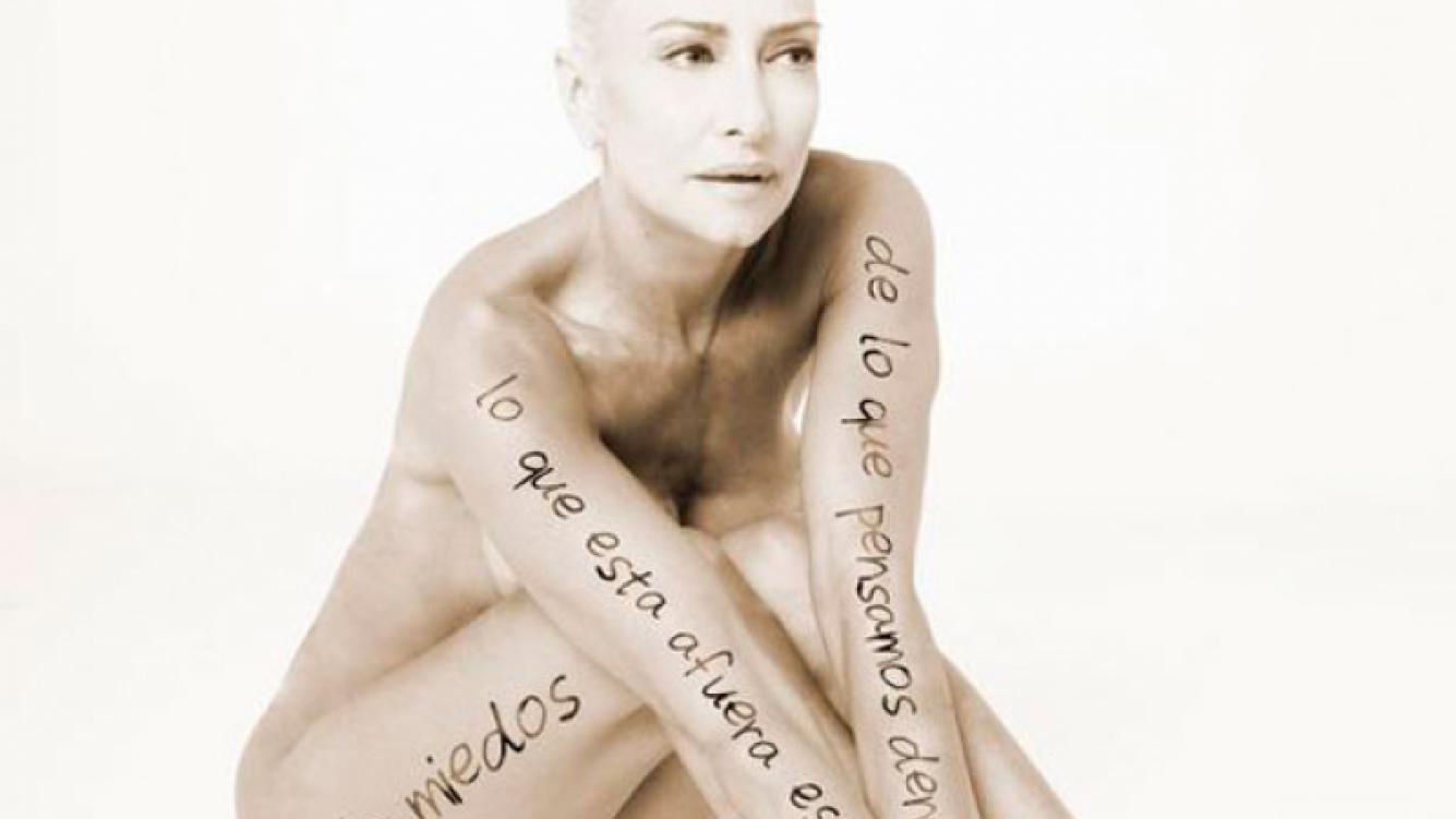 Andrea Ghidone y Gisela Bernal, desnudas para una campaña (Foto: Web).