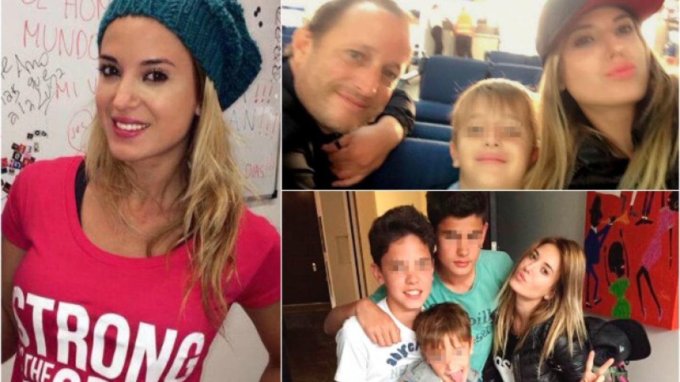 Jésica Cirio compartió el fin de semana con Martín Insaurralde, el hijo de él y sus primos. (Foto: Twitter)