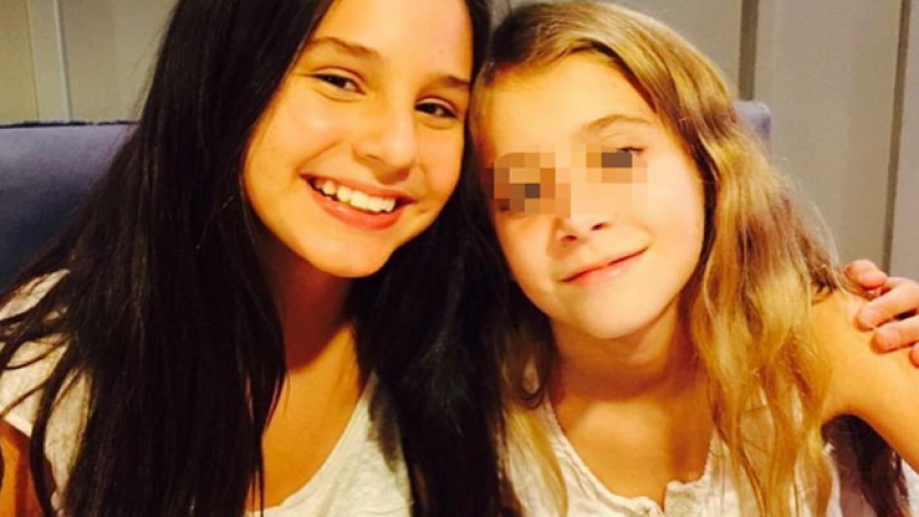 Juanita y Helena, la hija de Guillerimna Valdés (Fotos: Twitter).