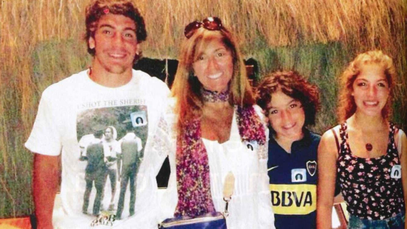 La familia Bulat en Estados Unidos. (Foto: revista Caras)