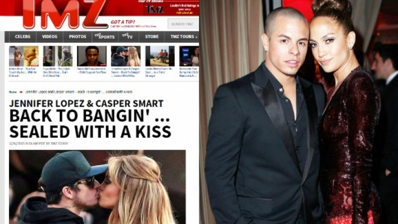 Jennifer Lopez y Casper Smart, otra vez vuelven a apostar por su relación. (Foto: Web)