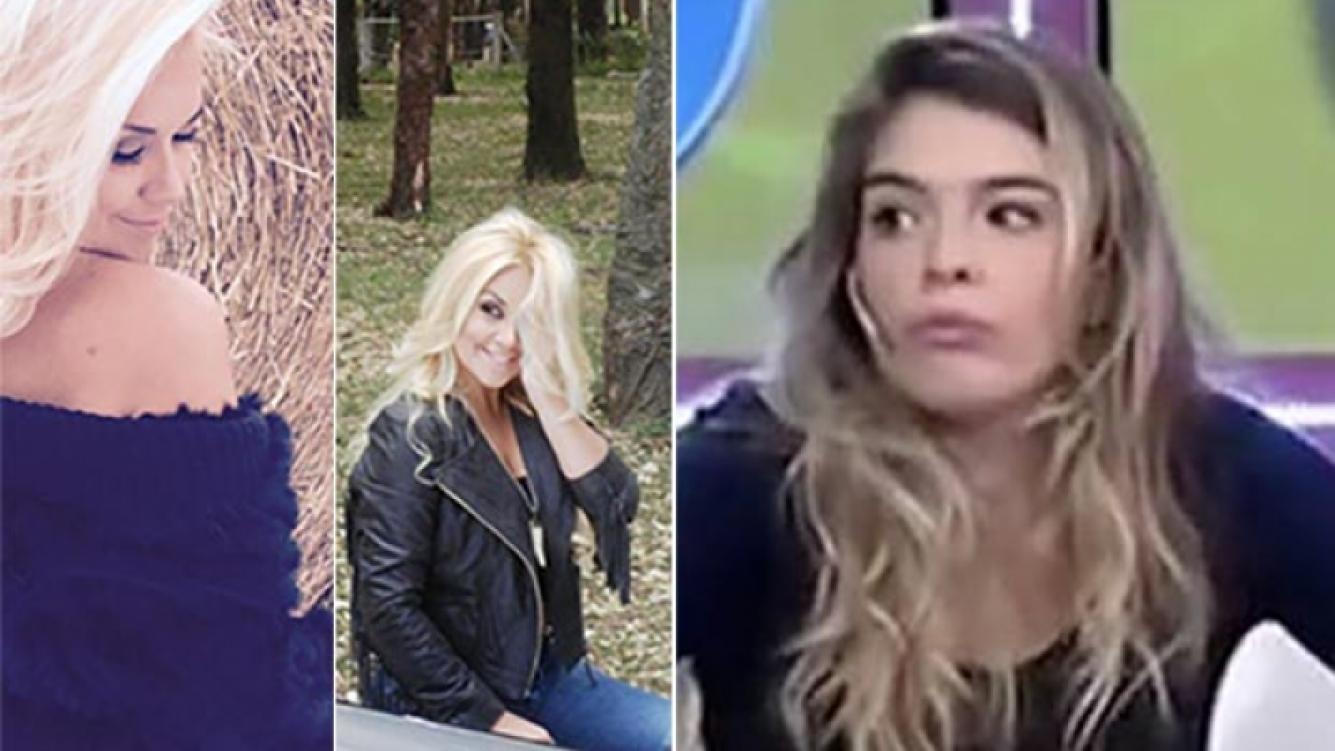 Verónica Ojeda le respondió a Dalma Maradona. (Fotos: revista Gente y Web)