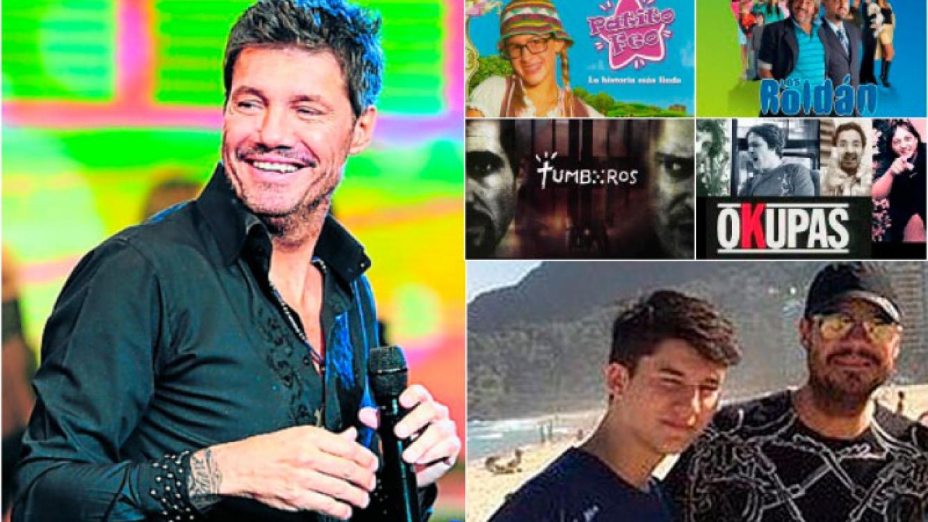 Tinelli quiere en 2015 volver a la ficción y ya trabaja en la idea junto a su hijo Francisco y Nacho Lecouna. (Foto: Web)