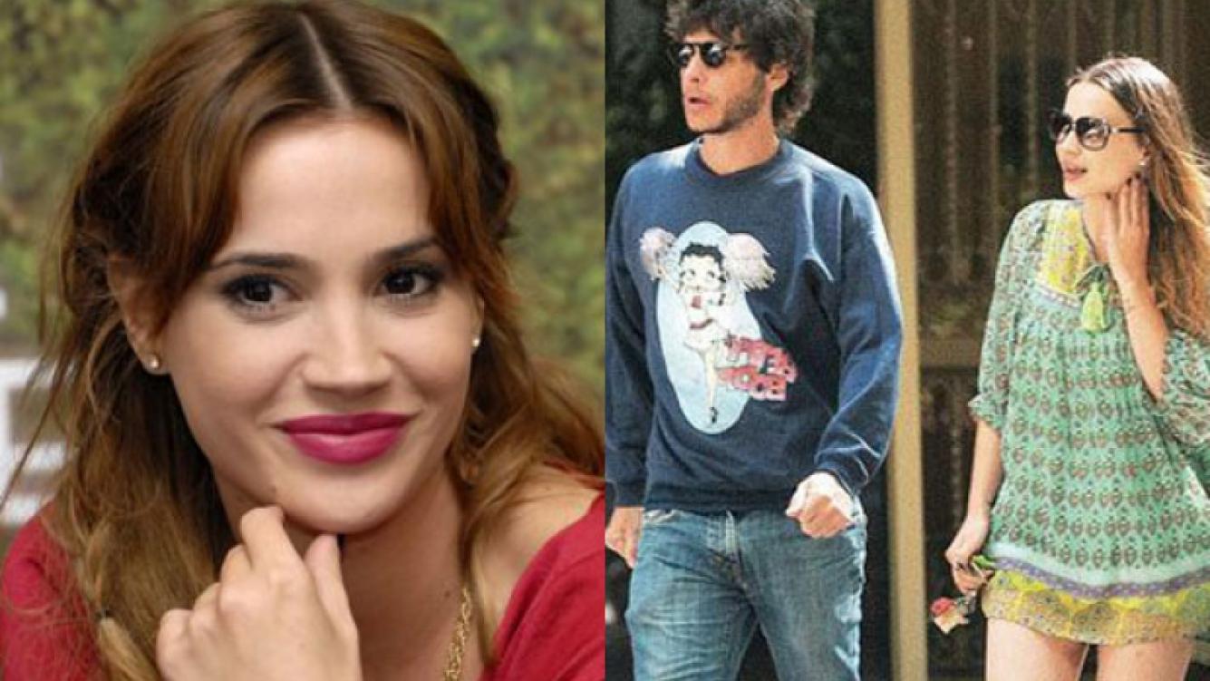 Celeste Cid habló de las fotos con su ex novio, Luis Ortega (Fotos: Revista Paparazzi y Web).