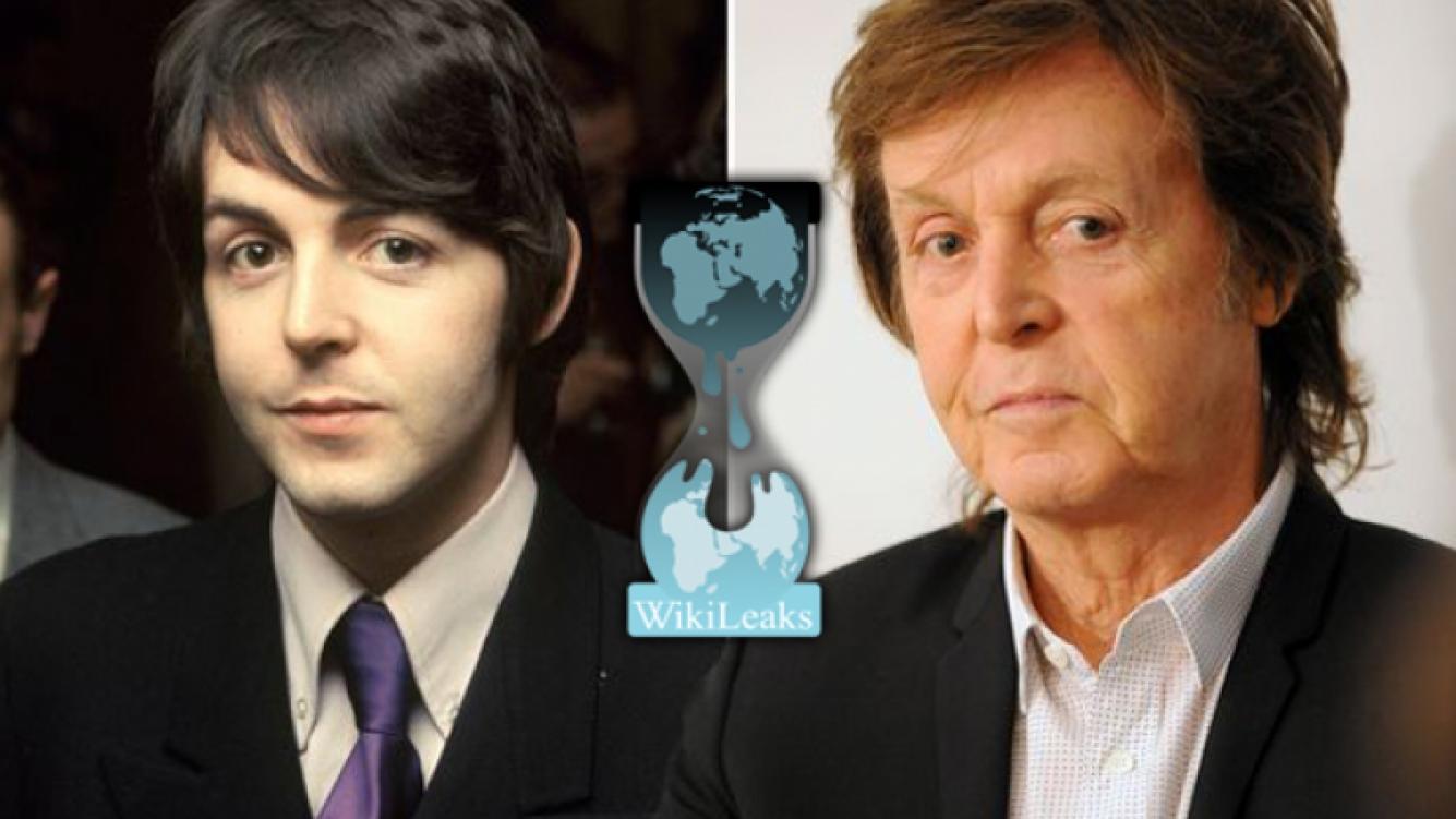 WikiLeaks desmiente el mito de la muerte de Paul McCartney. (Fuente: web)