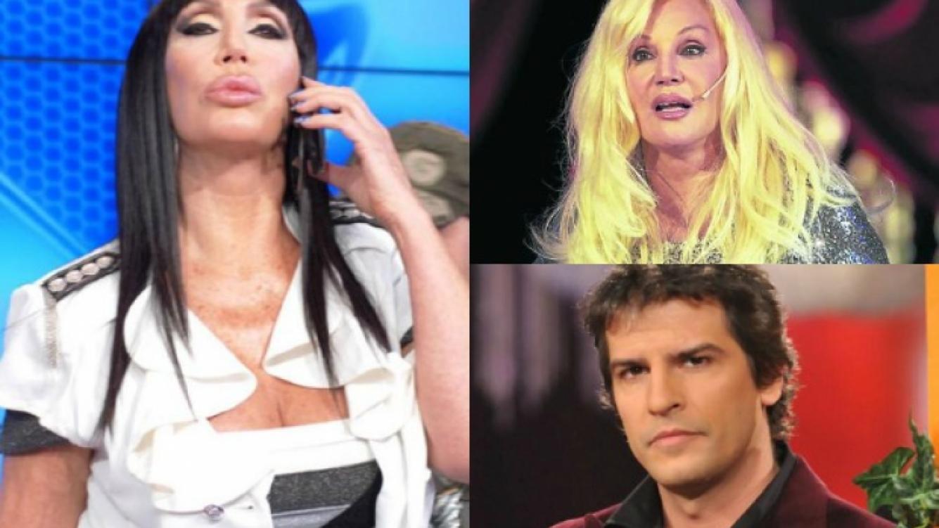 Moria Casán disparó contra Patricio Giménez y nuevamente contra Susana. (Foto: web)