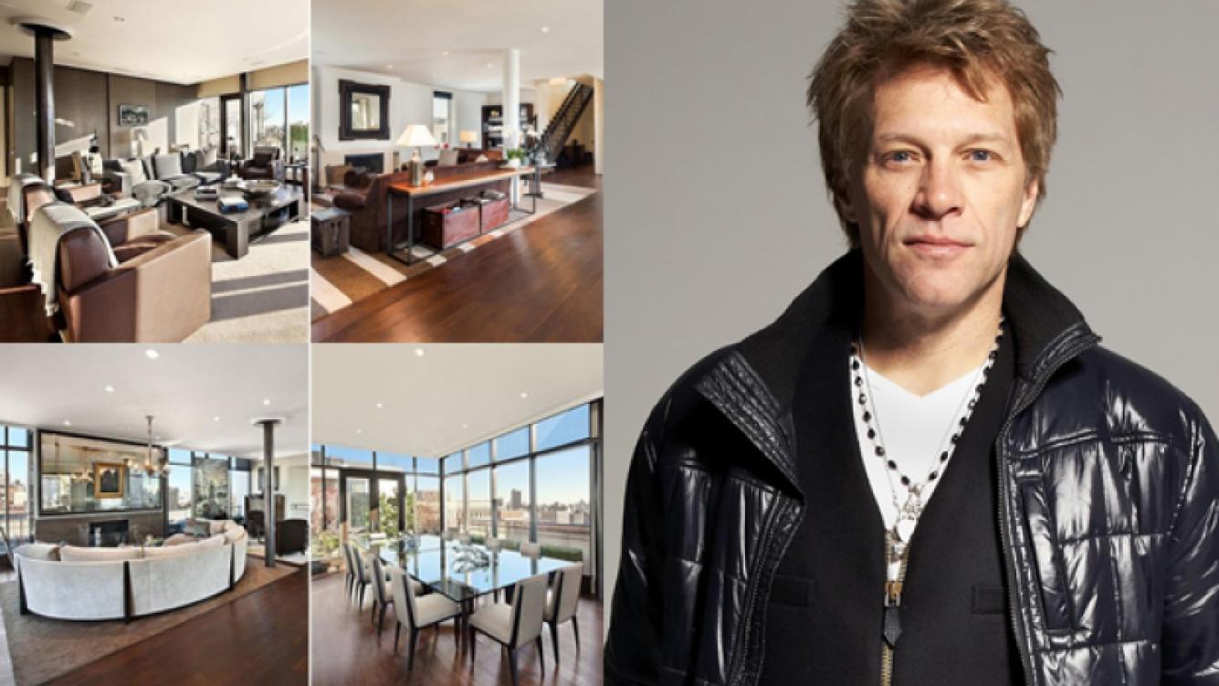 El lujoso departamento que vendió Bon Jovi. (Fuente: web)