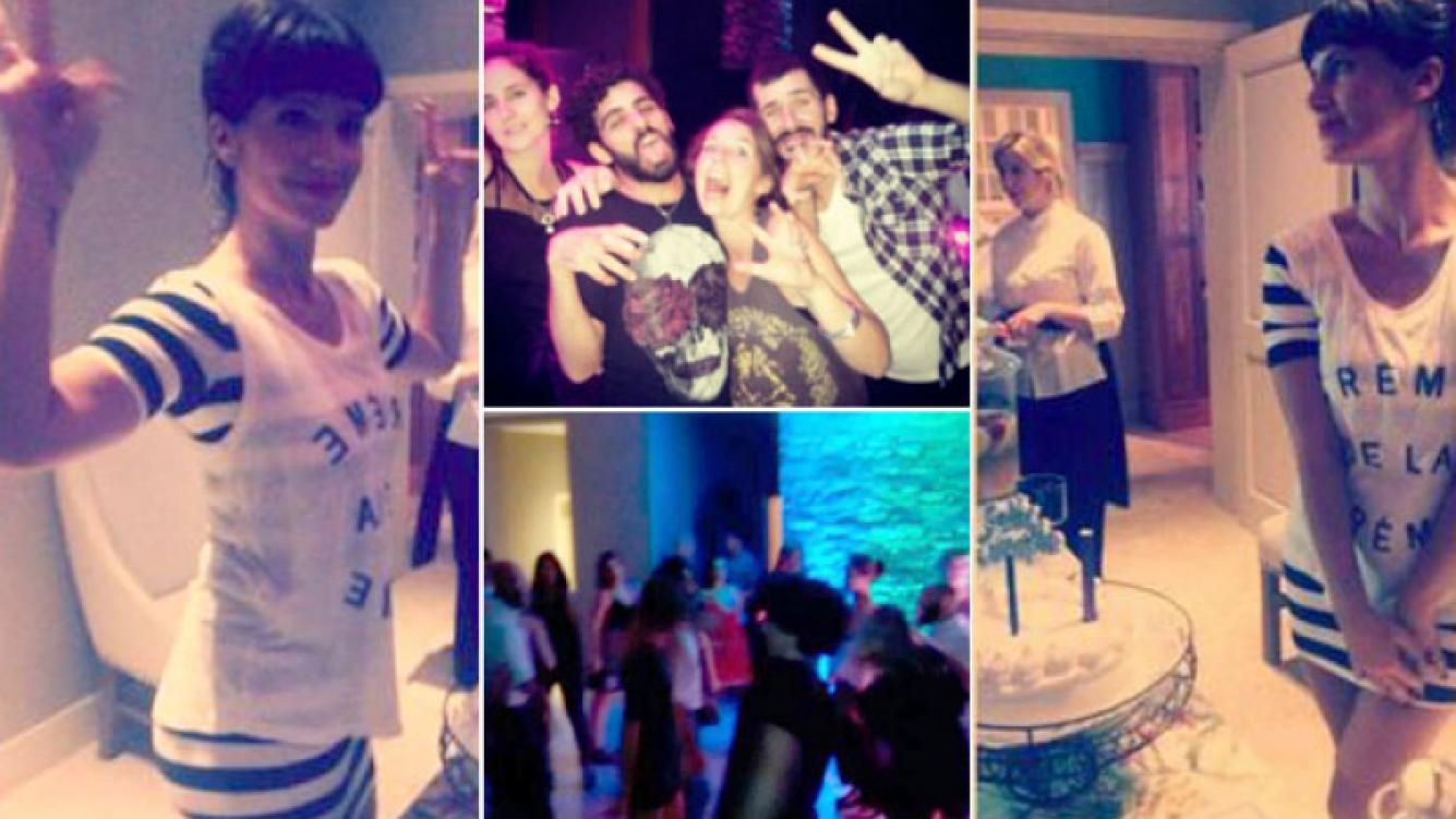 La fiesta por los 37 años de Griselda Siciliani. (Foto: Instagram)