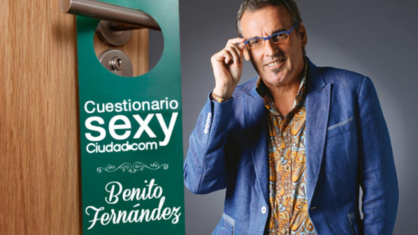 """Benito Fernández: """"En el sexo no tengo dramas, ¡con eso gano mucho!"""""""